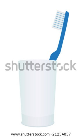 Toothbrush - stock vector