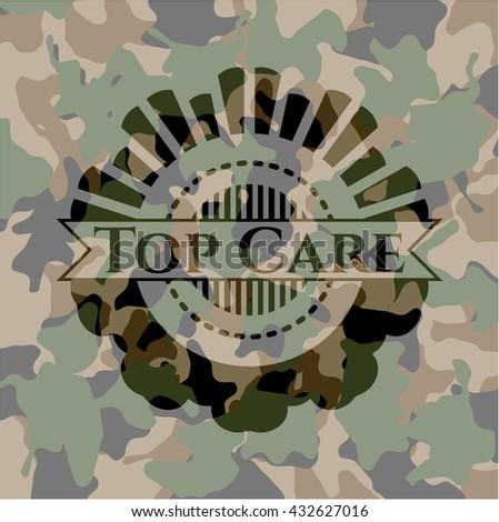 Top Care camo emblem