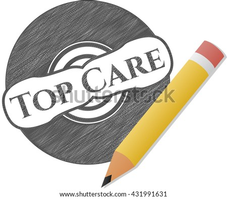 Top Care draw (pencil strokes)