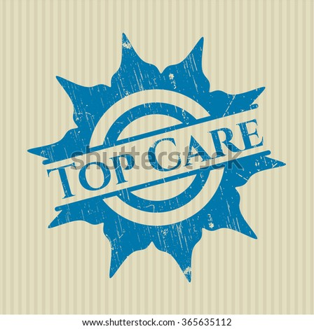 Top Care rubber grunge texture stamp