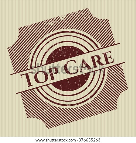 Top Care rubber stamp