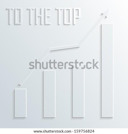 top diagram vector #159756824