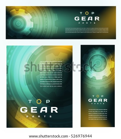 top gear cover design set