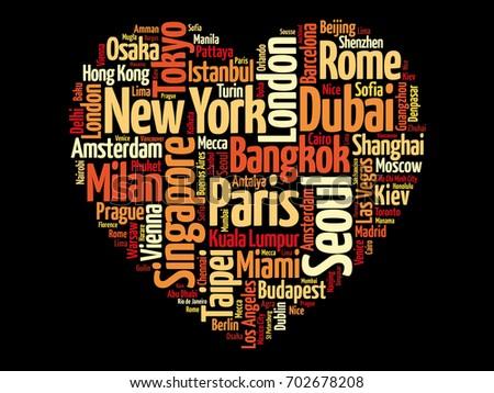 top 100 international tourist