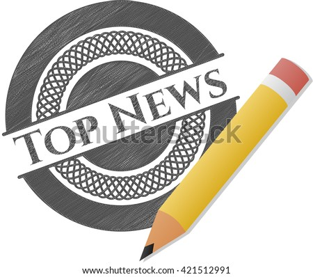 Top News pencil effect
