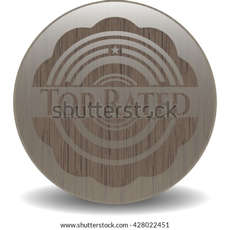 Top Rated retro wooden emblem