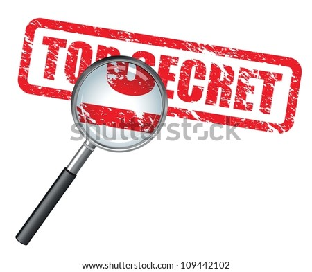 top secret magnifying glass
