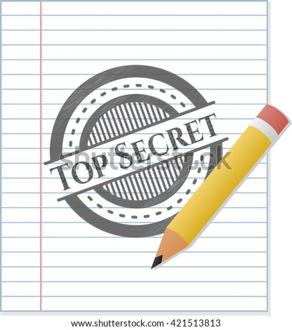 Top Secret penciled