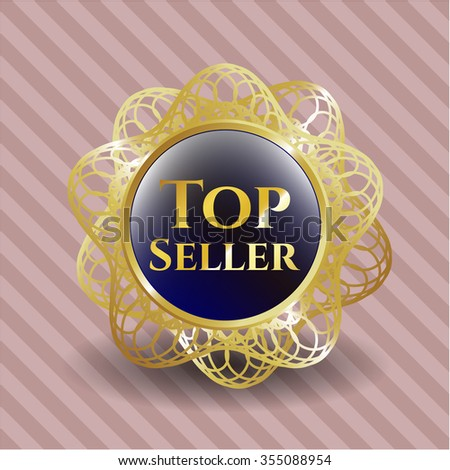 Top Seller gold emblem