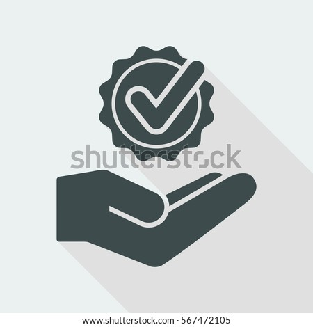 Top services - Vector flat icon