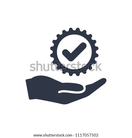 Top services - Vector flat icon. Vector illustration