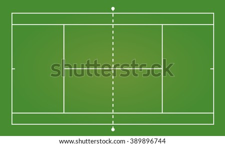 top view of tennis court  sport