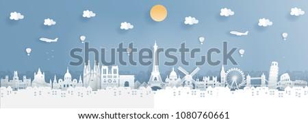top world famous landmark for