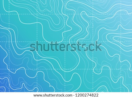 topographic map  abstract white