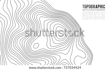 Topographic Map Contour Elevation Background Download Free Vector