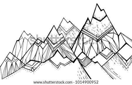 tops  mountain slopes  mountain