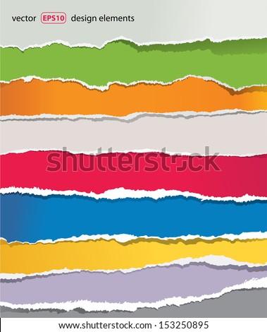 stock-vector-torn-paper-set-vector