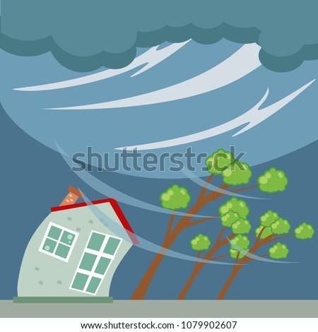 tornado and hurricane