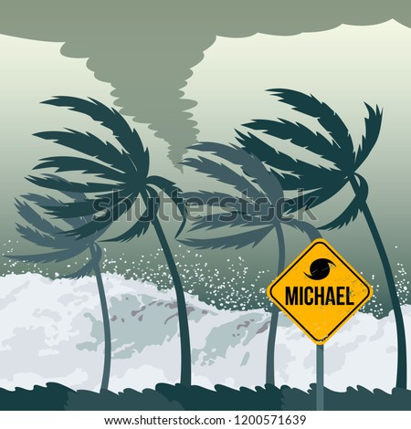 tornado hurricane michael