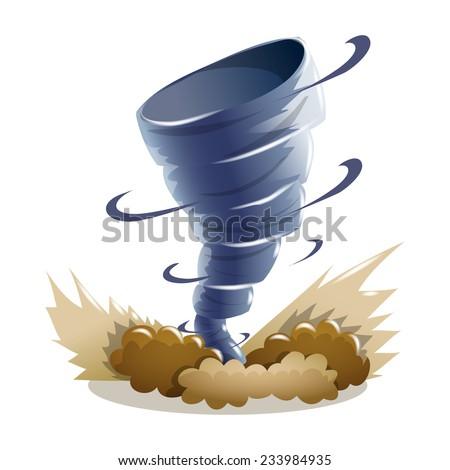 tornado  hurricane  whirlwind