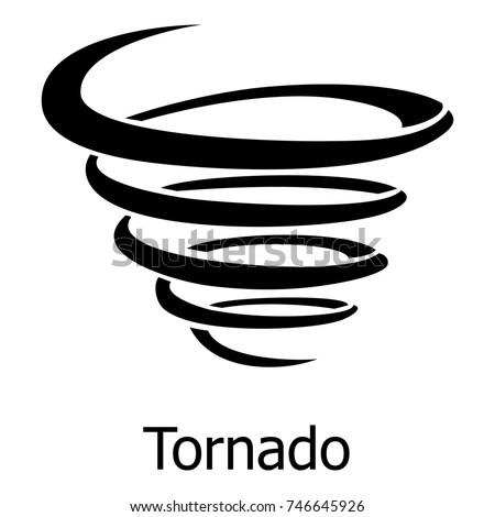 tornado icon simple