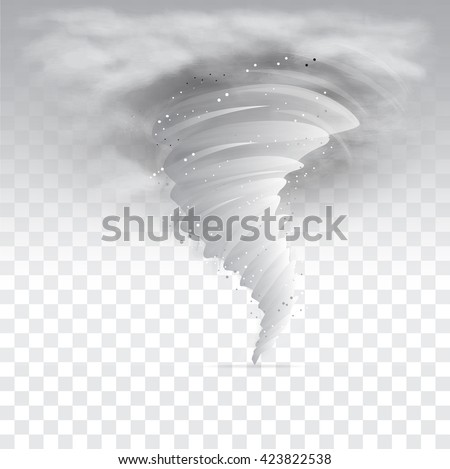 tornado sky illustrationvector