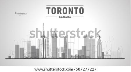 toronto  canada  city line