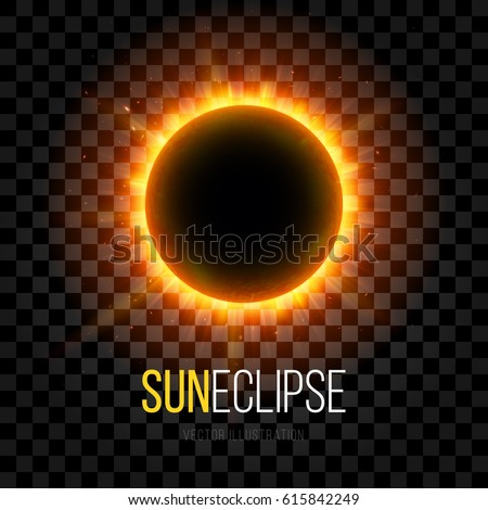 total eclipse of the sun with