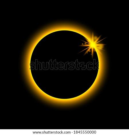 total eclipse solar sun planet