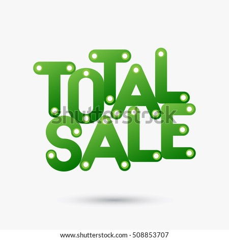 total sale banner icon label