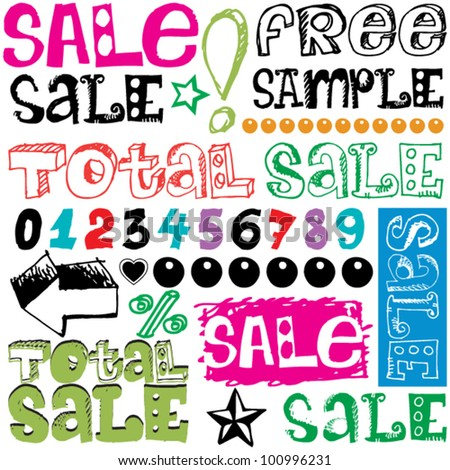 total sale  crazy doodles