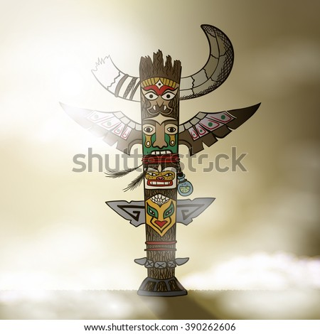 totem being object symbol