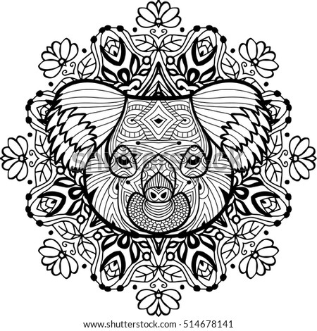 Royalty Free Traditional Maori Tattoo Design With 348415694 Stock