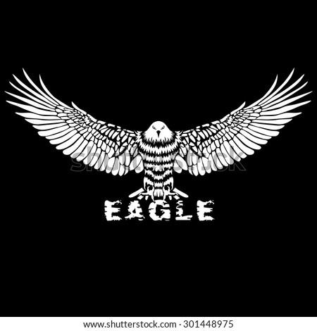 totem pole   eagle vector