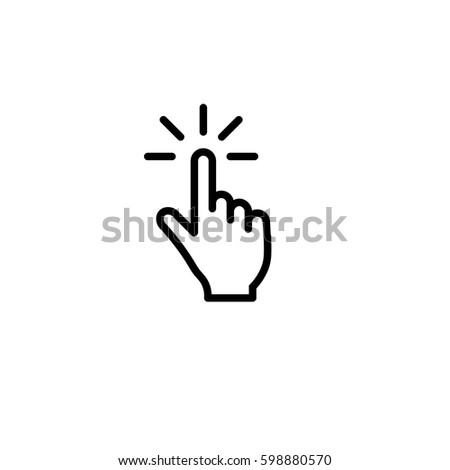 Touch Icon,vector Illustration,Eps10