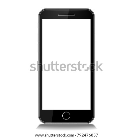 touch mobile black smart phone icon gadget