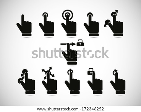 Touch Screen Gesture Collection