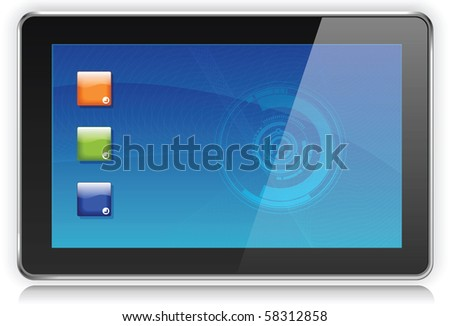 Touchpad or Tablet PC