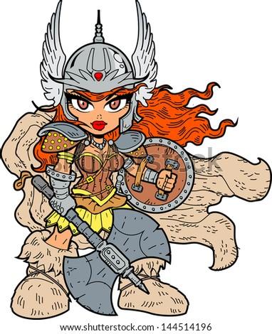 tough sexy anime manga warrior