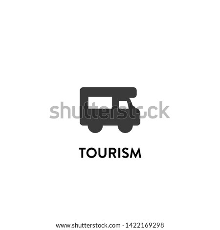 tourism icon vector. tourism vector graphic illustration