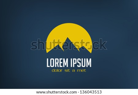 tourism travel logo template