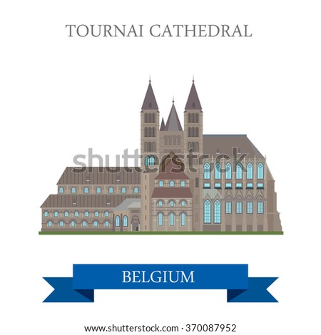 tournai cathedral in belgium