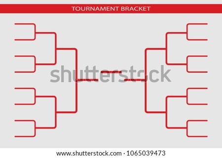Tournament bracket blank template vector download free vector art tournament bracket vector 16 teams gridampionship template maxwellsz
