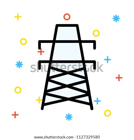 tower electric pole