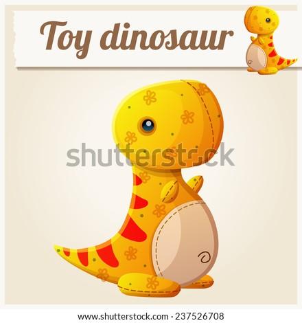 toy dinosaur 6 cartoon vector
