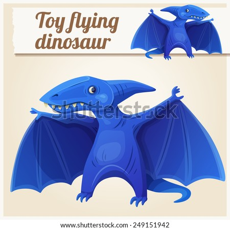 toy flying dinosaur 7 cartoon