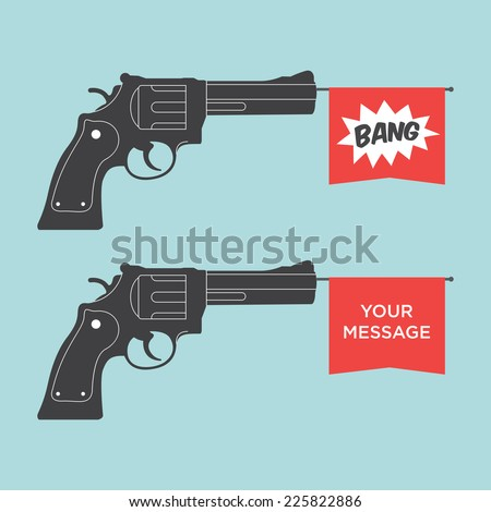 toy gun illustration