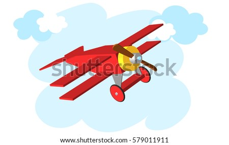 toy plane airplane vector
