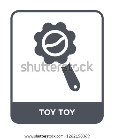 toy toy icon vector on white background, toy toy trendy filled icons from Toys collection, toy toy simple element illustration