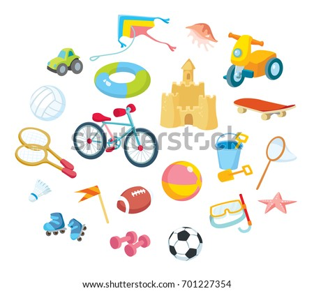 toys and sport equipment